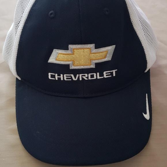 Chevrolet logo trucker Hat d0b1b5c02abd